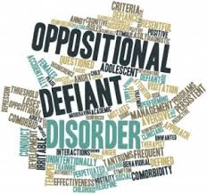 What can cause oppositional defiant disorder?